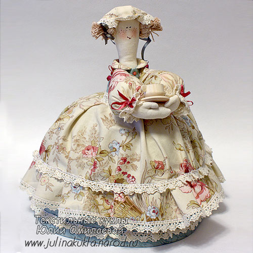 Кукла на чайник с выкройкой