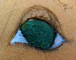 Роспись кукольных глазок