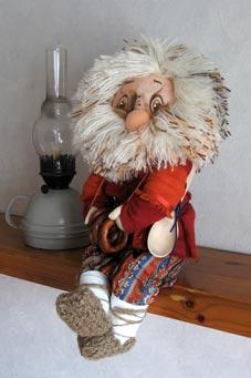 Мастер класс по кукле домовенок кузя