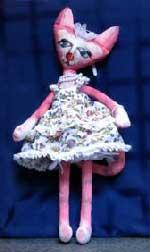 кукла кошечка с выкройками