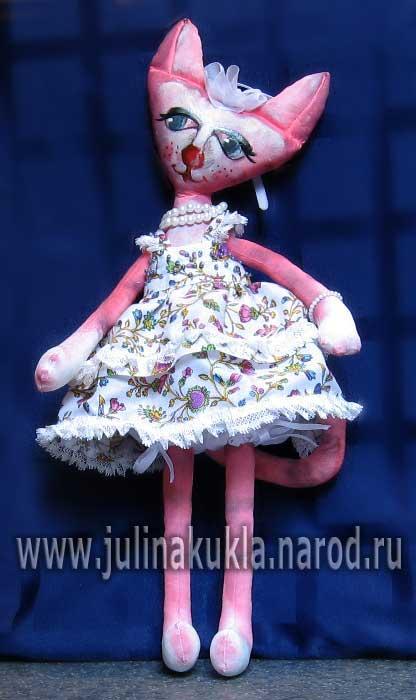 Сшить текстильную куклу своими руками