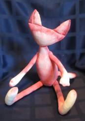 тектсильная кукла готова к росписи лица