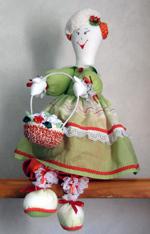 текстильная кукла с выкройками
